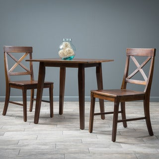 Christopher Knight Home Carridge Square 3-piece Wood Dining Set