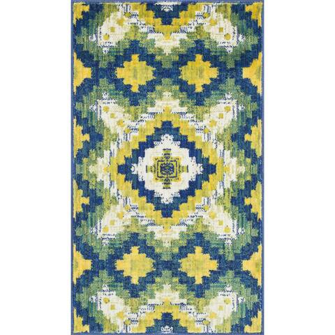 Alexander Home Tinsley Tribal Rug