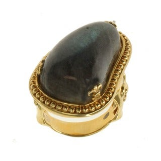 Dallas Prince Silver Labradorite Freeform Ring