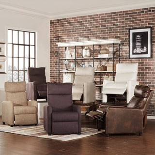 TRIBECCA HOME Saipan Modern Recliner Club Chair