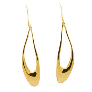 De Buman 18k Gold Plated Dangle Earrings