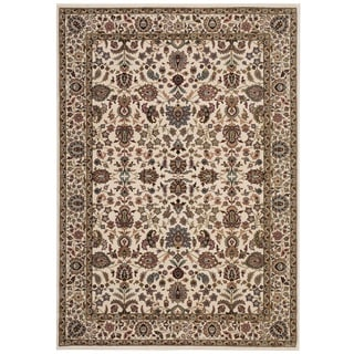 kathy ireland Antiquities Royal Countryside Ivory Area Rug by Nourison (3'9 x 5'9)