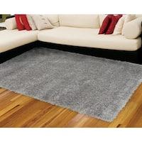 Nourison Escape Grey Shag Area Rug (7'10 x 9'10)