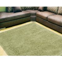 Nourison Escape Green Shag Area Rug - 7'10 x 9'10