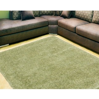 Nourison Escape Green Shag Area Rug (7u002710 X 9u002710)