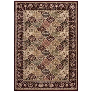kathy ireland Antiquities Washington Square Multicolor Area Rug by Nourison (3'9 x 5'9)