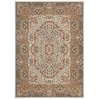 kathy ireland Antiquities Stately Empire Ivory Area Rug by Nourison (3'9 x 5'9)