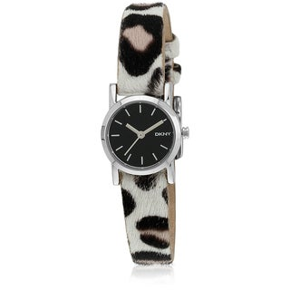 DKNY Women's NY2190 Soho Mini Leopard Print Watch