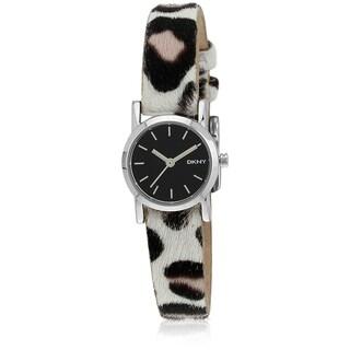 DKNY Women's Soho Mini Leopard Print Watch