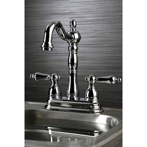 Victorian Polished Chrome Bar Faucet