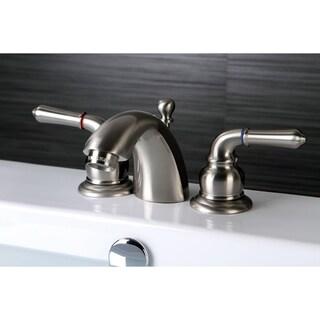Satin Nickel Mini-Widespread Bathroom Faucet