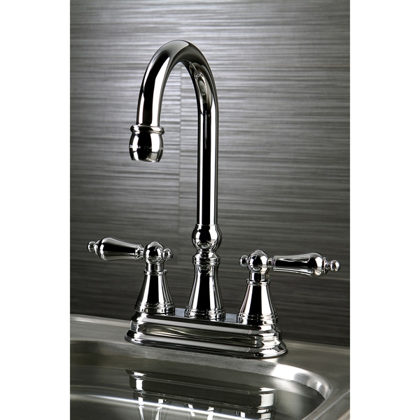 high arch kitchen faucet shop high arch polished chrome bar faucet free shipping 18045