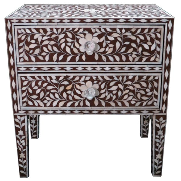 Bone Inlay Bedside Accent Table Free Shipping Today  : Bone Inlay Accent Table 4eeace52 9bad 418f 873e 227aeb3cb4d8600 from www.overstock.com size 600 x 600 jpeg 46kB