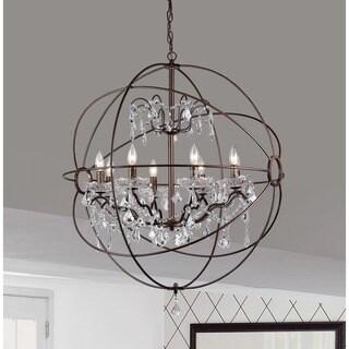 edwards antique bronze 32inch chandelier
