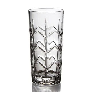 Fitz and Floyd Fleur Hi-ball Glasses (Set of 4)
