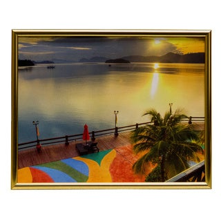 Metal I 8x10 Picture Frame