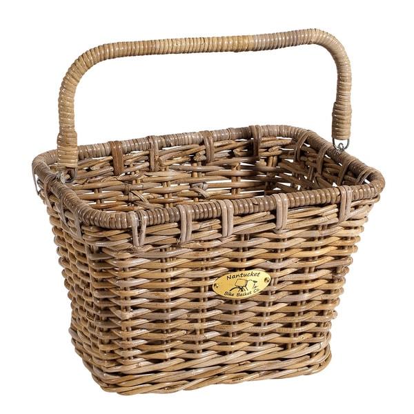 Nantucket Bicycle Co. Rattan Bicycle Basket