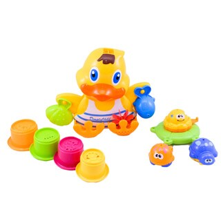 Dimple Child Duck Wall Mounted Bath Toy