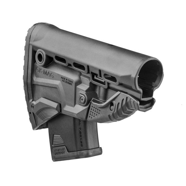 AK47 Survival Built-in Magazine Buttstock Carrier with Free Polymer 10rd Mag