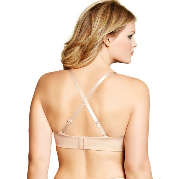 43f3402cb98e8 Shop Lilyette  Indulgent Comfort  Full-figure Strapless Bra - Free ...