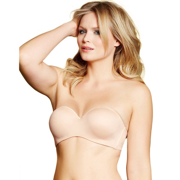Lilyette 'Indulgent Comfort' Full-figure Strapless Bra