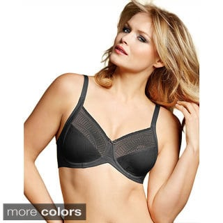 Lilyette Enchantment Lace Minimizer Bra