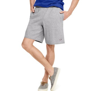 Champion Men's Authentic Cotton Jersey 9-inch Shorts