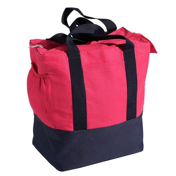 Nantucket Bicycle Basket Co. Pink Rear Pannier Bag