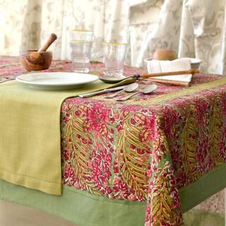Couleur Nature Bougainvillea Square Tablecloth