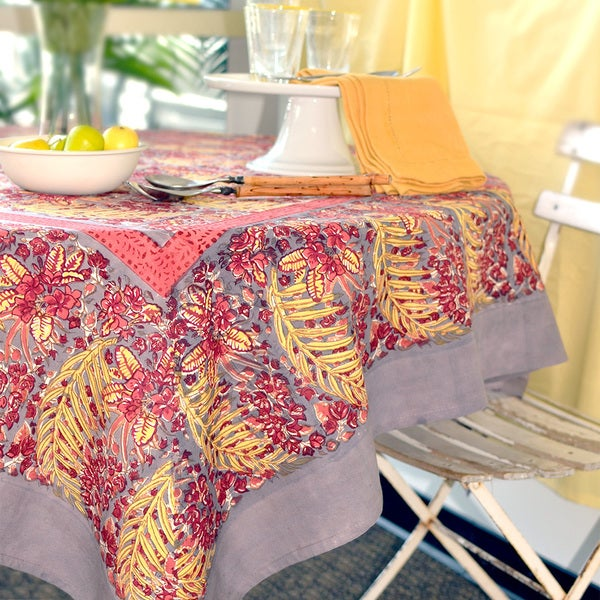 Couleur Nature Bougainvillea Rectangle Tablecloth