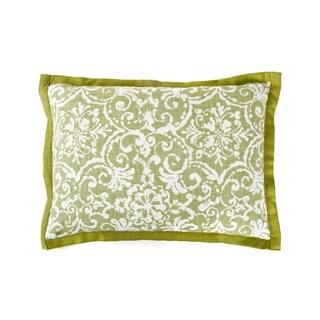 Jiti Primitiave Green Cotton Pillow