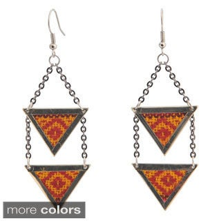 Amina Aguayo Dangle Earrings (Bolivia)