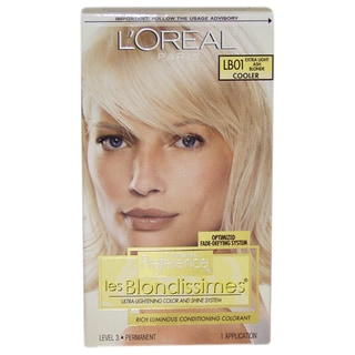 L'Oreal Paris Superior Preference Les Blondissimes #LB01 Extra Light Ash Blonde Cooler