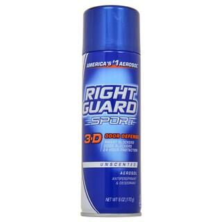 Right Guard Sport 3-D Odor Defense 6-ounce Antiperspirant and Deodorant Aerosol Spray