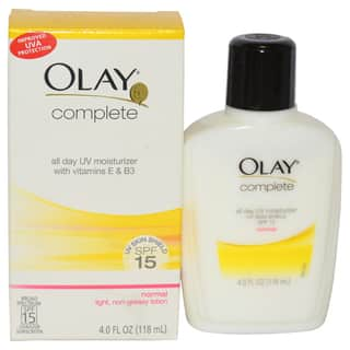 Olay Complete All Day UV SPF 15 4-ounce Moisturizer|https://ak1.ostkcdn.com/images/products/9480414/P16662130.jpg?impolicy=medium