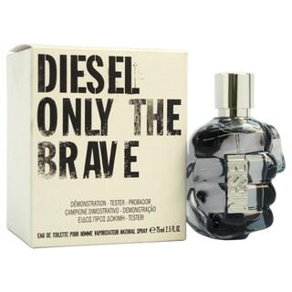 Diesel Only The Brave Men's 2.5-ounce Eau de Toilette EDT Spray (Tester)