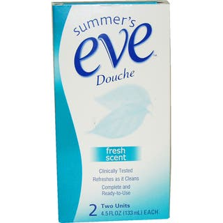 Summer's Eve Douche Fresh Scent 4.5-ounce Cleanser https://ak1.ostkcdn.com/images/products/9480447/P16662167.jpg?impolicy=medium