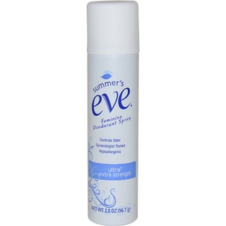 Summer's Eve Feminine Ultra Extra Strength 2-ounce Deodorant Spray