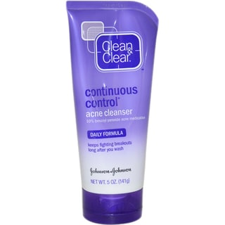 Clean & Clear Daily Formula Continuous Control Acne 5-ounce Cleanser