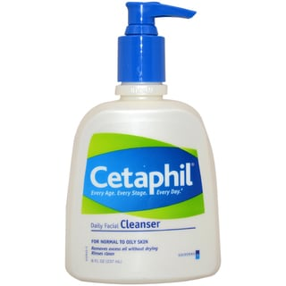 Cetaphil Daily Facial Cleanser For Normal to Oily Skin 8-ounce Cleanser