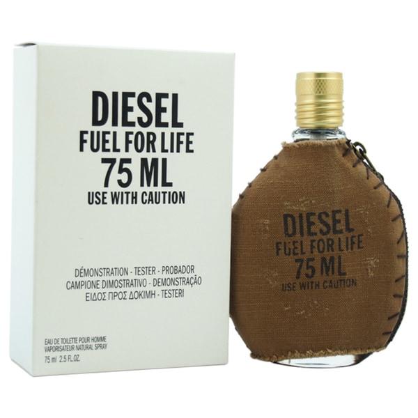diesel fuel for pour homme s 2 5 ounce eau de toilette spray tester free shipping