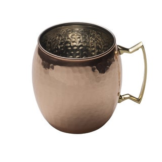 Mikasa Solid Copper Hammered 16-ounce Mug