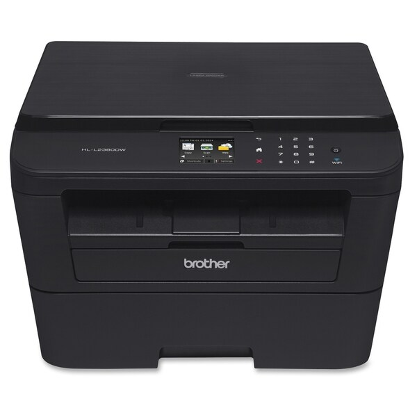 Brother HL-L2380DW Laser Multifunction Printer - Monochrome - Duplex