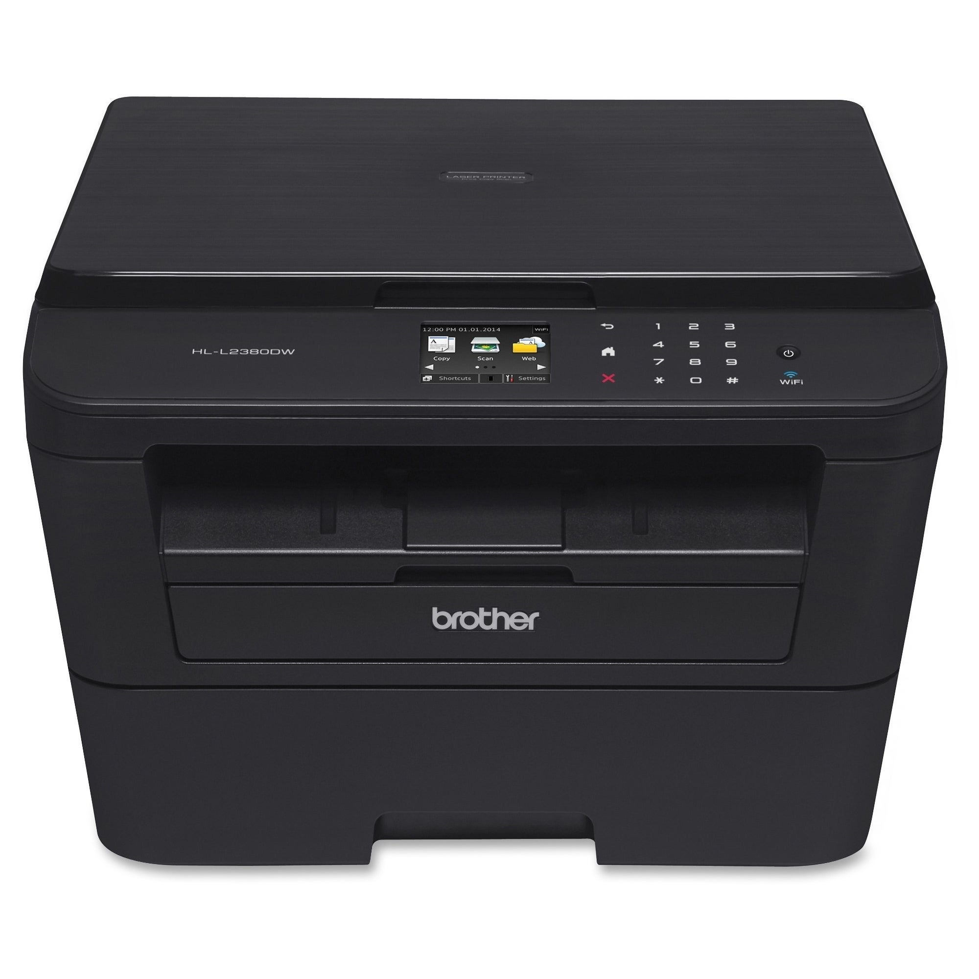 Brother HL-L2380DW Laser Multifunction Printer - Monochro...