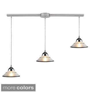 Elk Lighting Refraction Polished Chrome 3-light Pendant