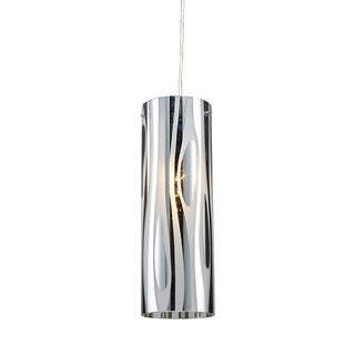 Elk Lighting Chromia Flow Single-light Polished Chrome Pendant