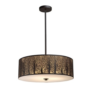 Elk Lighting Woodland Sunrise 5-light Pendant