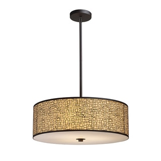Elk Lighting Medina 5-light Aged Bronze Pendant
