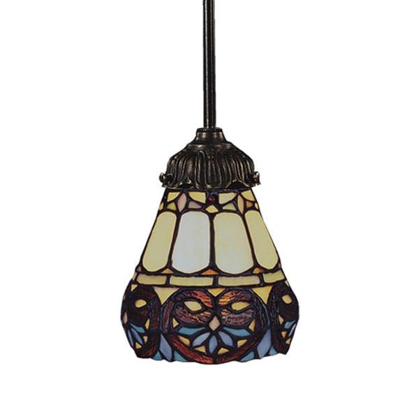 Elk Lighting Amazon: Shop Elk Lighting Mix-N-Match Multicolored 1-light Bronze
