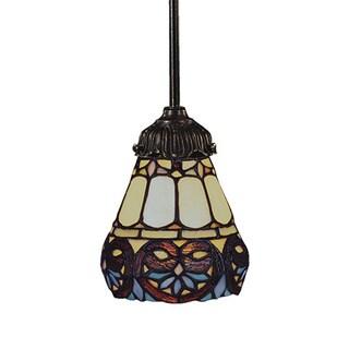Elk Lighting Mix-N-Match Multicolored 1-light Bronze Pendant